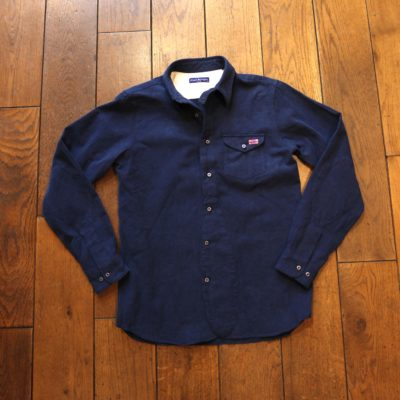 Edward Berrington Blue Shirt